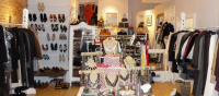 Luxury consignment shop