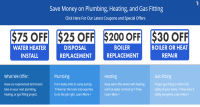 Save Money on Plumbing, Heating and Gas Fitting