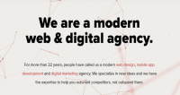 A modern web & digital agency
